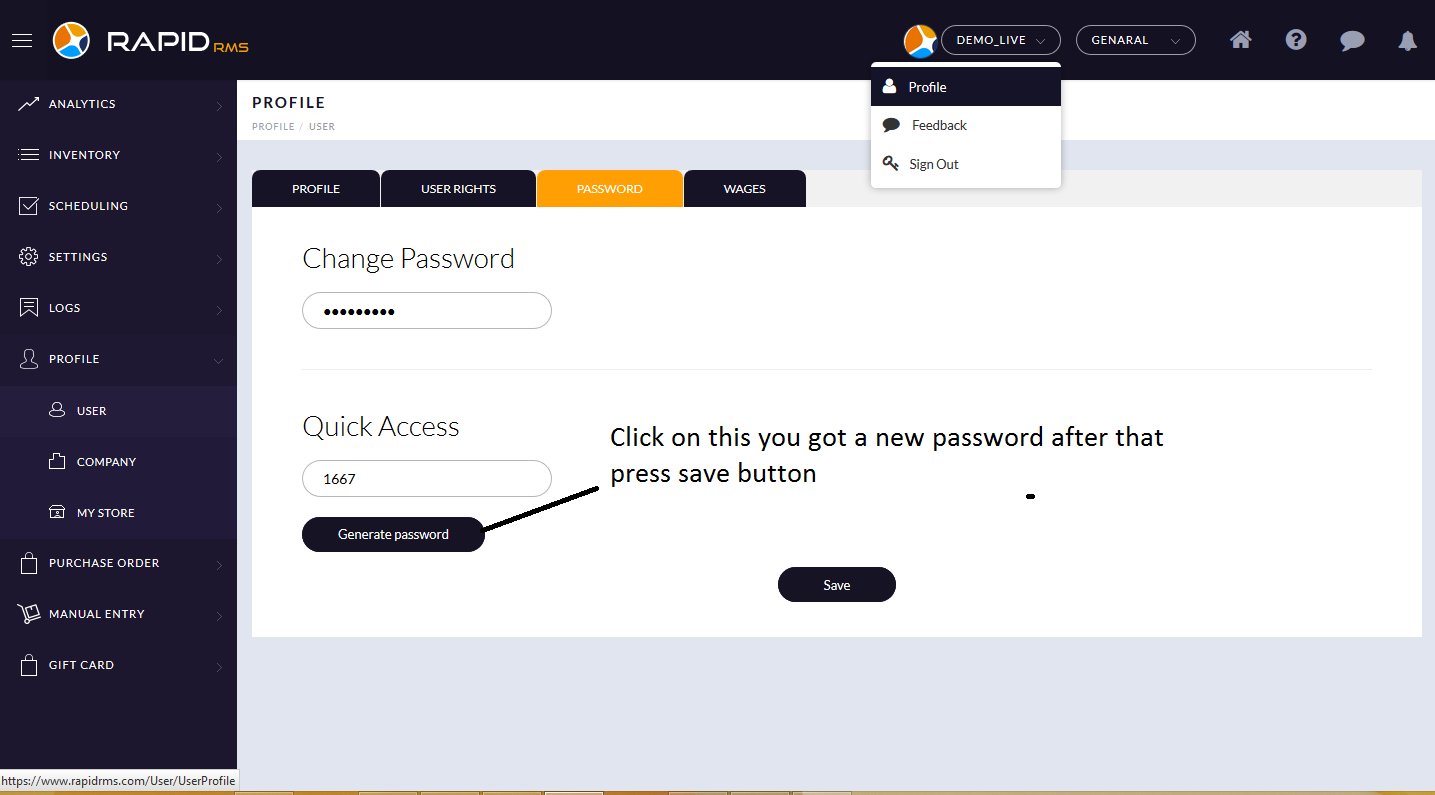 How to change PIN password_2
