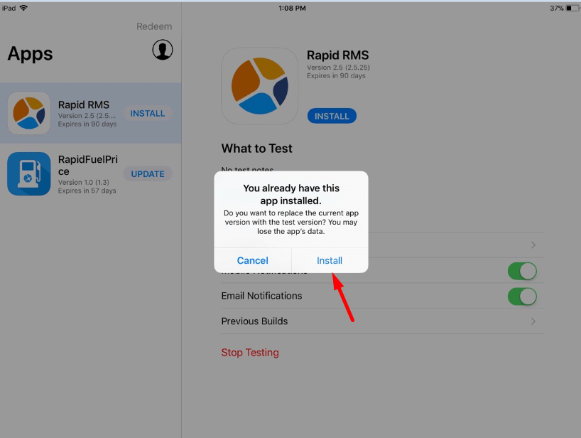How-to-download-app-from-Test-flight-or-update-3.